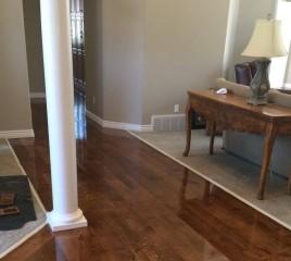 Hardwood Floor Path