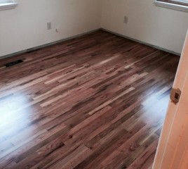 Refinished Floor
