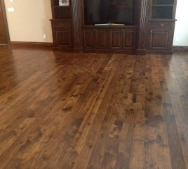 Dark Stained Hickory