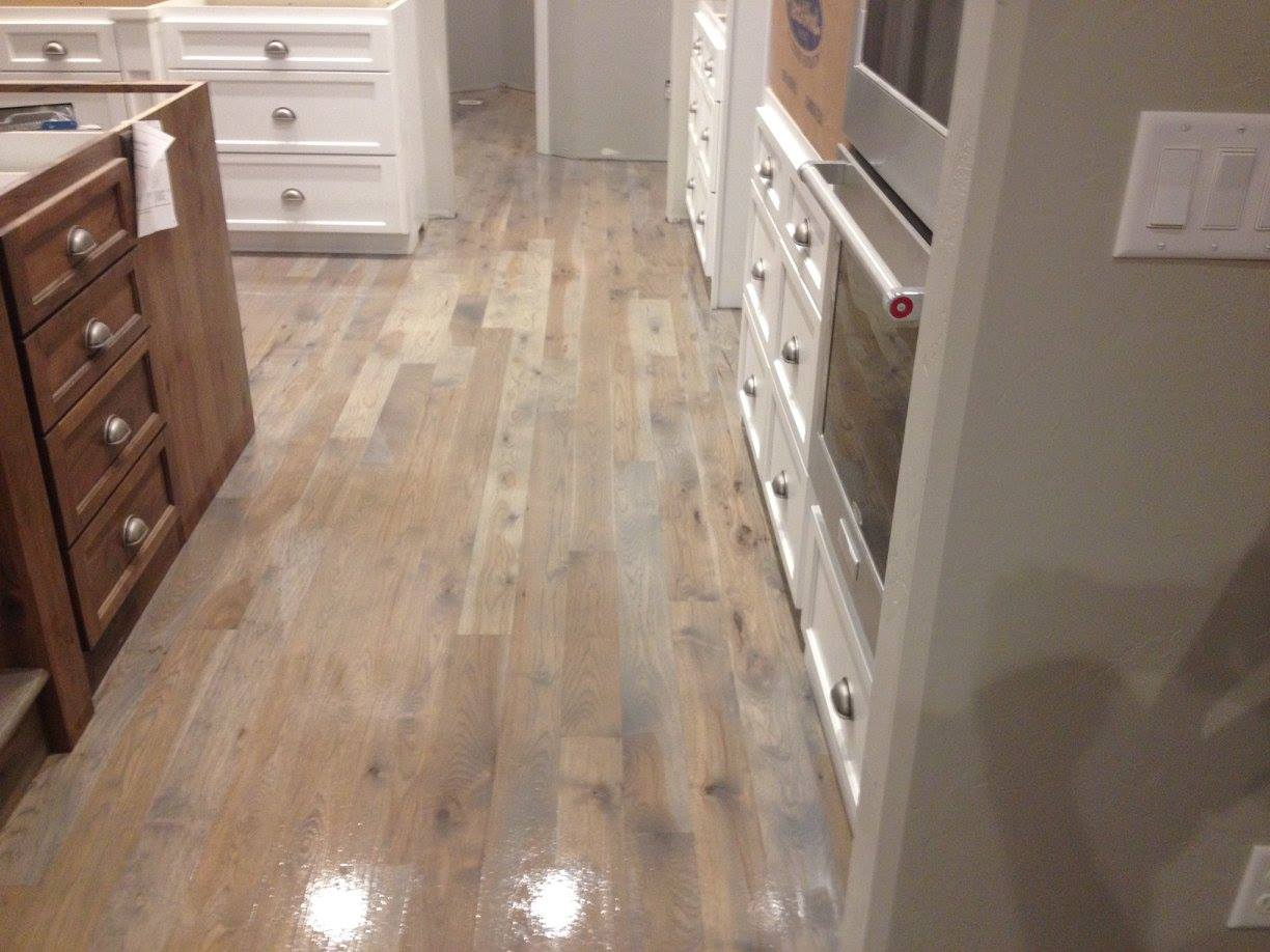 hickory grey stain